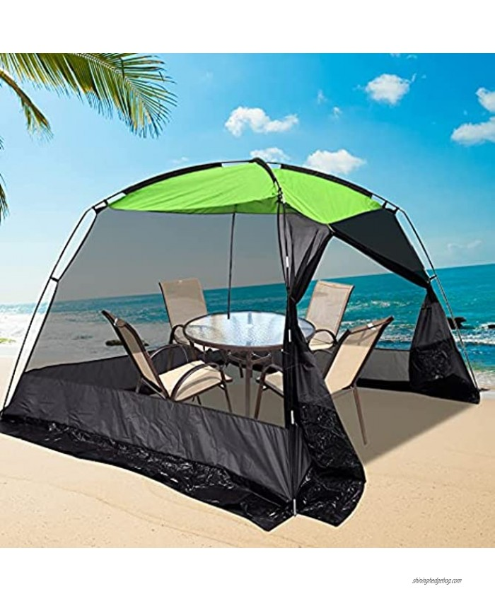 CAMPMORE Screen House Tent Mesh Screen Room Canopy Sun Shelter for Backyard Camping Outdoor Kitchen