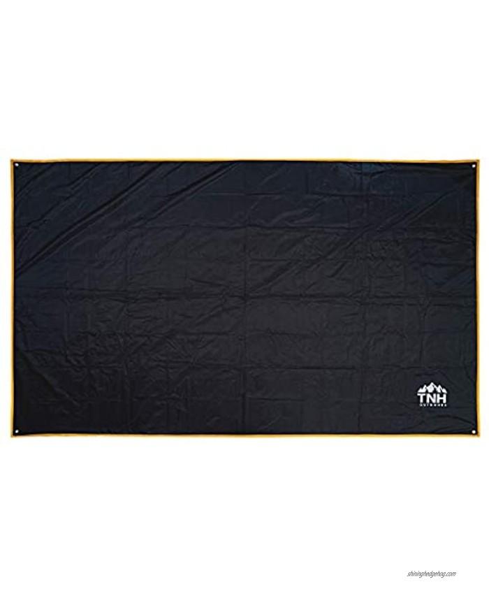 TNH Outdoors Kope Tarp and Tent Footprint 7.8 x 4.6 ft | Black
